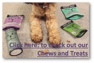 Chews and Treats, Pooch and Mutt. Dog Diaries.