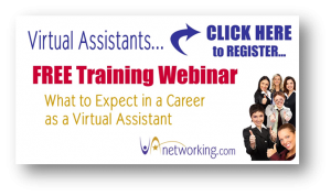 Free Training Webinar. Become a VA