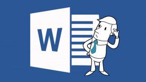 MS Word, Document Formatting Image