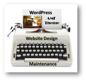 AMF Typing Services Website Design and Maintenance