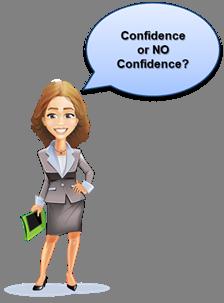 TAVASA Mentoring Image, Confidence or No Confidence